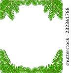 christmas decoration border... | Shutterstock .eps vector #232361788