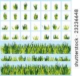 set of grass | Shutterstock .eps vector #23236648