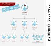 corporate organization chart... | Shutterstock .eps vector #232379632