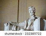 lincoln statue in lincoln...   Shutterstock . vector #232385722