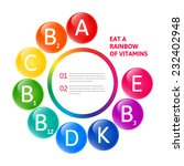 vector colorful set of the... | Shutterstock .eps vector #232402948