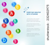 medical blurred background with ... | Shutterstock .eps vector #232402975