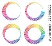 circular color wheels or buffer ...