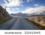 snowy road | Shutterstock . vector #232413445