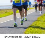 group of runners compete in the ... | Shutterstock . vector #232415632