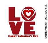 valentines day  | Shutterstock . vector #232429516