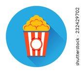 popcorn icon | Shutterstock .eps vector #232429702