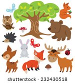 Forest Animal Vector...