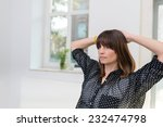 serious thoughtful... | Shutterstock . vector #232474798