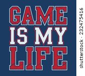 geme typography  t shirt... | Shutterstock .eps vector #232475416