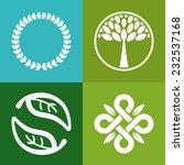 vector abstract emblem   ... | Shutterstock .eps vector #232537168