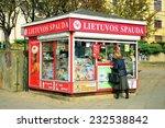 vilnius  lithuania   october 12 ... | Shutterstock . vector #232538842
