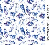 cute pattern of beautiful... | Shutterstock . vector #232554415