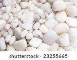 white pebble stones background   Shutterstock . vector #23255665