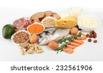 food high in protein isolated... | Shutterstock . vector #232561906