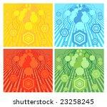 """wind of change""  abstract... | Shutterstock .eps vector #23258245"