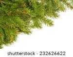 christmas green framework... | Shutterstock . vector #232626622