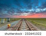 Endless Railroad To The Horizon ...