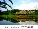 Small photo of Xishuangbanna Dai Wang's oldest Imperial Garden Lake released