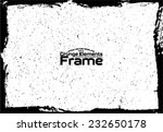 grunge frame   abstract texture.... | Shutterstock .eps vector #232650178