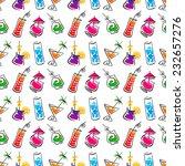 decorative cocktail bar... | Shutterstock .eps vector #232657276