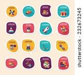 toy speech bubble banner design ... | Shutterstock .eps vector #232673245