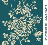 seamless pattern with vintage...   Shutterstock .eps vector #232678246