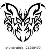 vector abstract tribal... | Shutterstock .eps vector #23268400