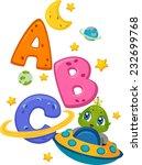 educational illustration... | Shutterstock .eps vector #232699768