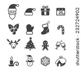 christmas icon | Shutterstock .eps vector #232724902