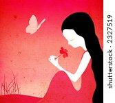 grunge fantasy illustration  ... | Shutterstock . vector #2327519