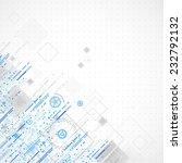 abstract technology business... | Shutterstock .eps vector #232792132