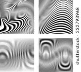 abstract vector striped... | Shutterstock .eps vector #232793968