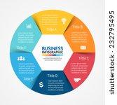 vector circle infographic.... | Shutterstock .eps vector #232795495
