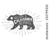 Vintage California Republic...