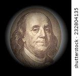 portrait of benjamin franklin  | Shutterstock . vector #232804135