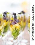 fruit cuts in glasses   Shutterstock . vector #232813552