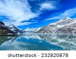 Panoramic View Of Glacier Bay...