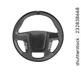 render of steering wheel... | Shutterstock . vector #232838668