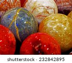 energy stones polished in round ... | Shutterstock . vector #232842895