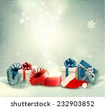 christmas holiday background... | Shutterstock .eps vector #232903852