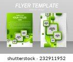 abstract flyer template design... | Shutterstock .eps vector #232911952