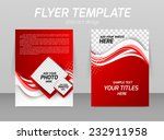 abstract flyer template design... | Shutterstock .eps vector #232911958