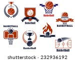 basketball tournament and... | Shutterstock .eps vector #232936192
