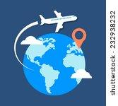travel  destination concept.... | Shutterstock .eps vector #232938232