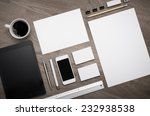 corporate identity design... | Shutterstock . vector #232938538