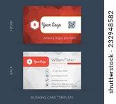 vector modern creative business ... | Shutterstock .eps vector #232948582