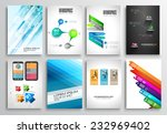 set of flyer design  web... | Shutterstock .eps vector #232969402