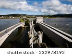 three bridges of conwy   wales  ...