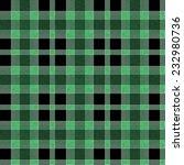 green and black tartan seamless ... | Shutterstock . vector #232980736